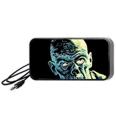 Zombie Portable Speaker (black) by Valentinaart