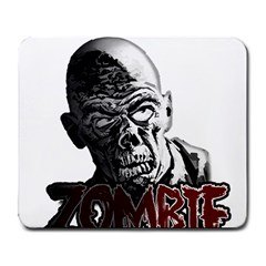 Zombie Large Mousepads by Valentinaart