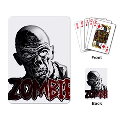 Zombie Playing Card by Valentinaart