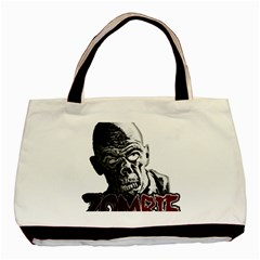 Zombie Basic Tote Bag by Valentinaart