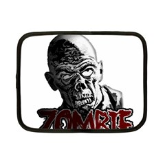 Zombie Netbook Case (small)  by Valentinaart