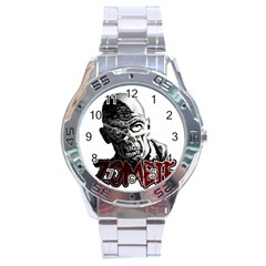 Zombie Stainless Steel Analogue Watch by Valentinaart