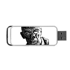 Zombie Portable Usb Flash (one Side)