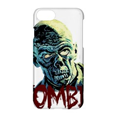 Zombie Apple Iphone 7 Hardshell Case by Valentinaart