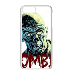 Zombie Apple Iphone 7 Plus White Seamless Case by Valentinaart