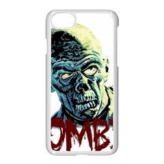 Zombie Apple Iphone 7 Seamless Case (white) by Valentinaart