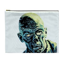Zombie Cosmetic Bag (xl) by Valentinaart