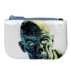 Zombie Large Coin Purse by Valentinaart