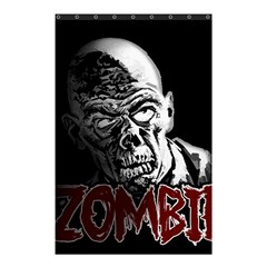 Zombie Shower Curtain 48  X 72  (small)  by Valentinaart
