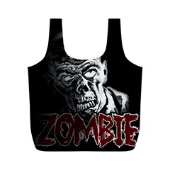 Zombie Full Print Recycle Bags (m)