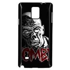 Zombie Samsung Galaxy Note 4 Case (black) by Valentinaart