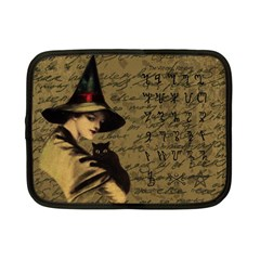 Witchcraft Vintage Netbook Case (small)