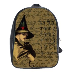 Witchcraft Vintage School Bag (large)