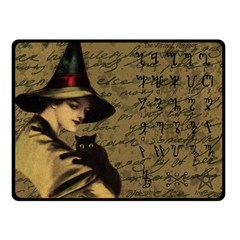 Witchcraft Vintage Fleece Blanket (small)