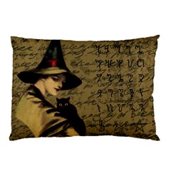 Witchcraft Vintage Pillow Case (two Sides) by Valentinaart