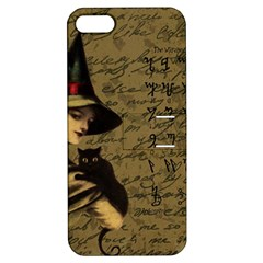 Witchcraft Vintage Apple Iphone 5 Hardshell Case With Stand by Valentinaart