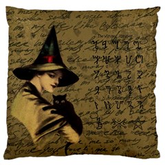 Witchcraft Vintage Standard Flano Cushion Case (two Sides)