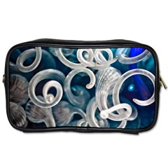 Spiral Glass Abstract  Toiletries Bags 2 Side by amphoto