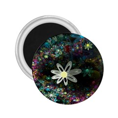 Flowers Fractal Bright 3840x2400 2 25  Magnets by amphoto
