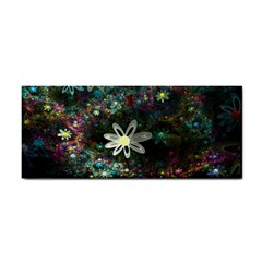 Flowers Fractal Bright 3840x2400 Hand Towel by amphoto