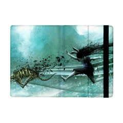 Running Abstraction Drawing  Apple Ipad Mini Flip Case by amphoto