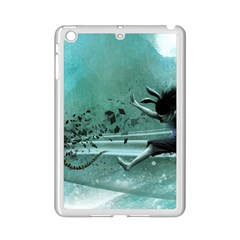 Running Abstraction Drawing  Ipad Mini 2 Enamel Coated Cases by amphoto