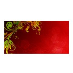 Fire Effect Background  Satin Wrap by amphoto