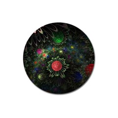 Shapes Circles Flowers  Magnet 3  (round) by amphoto