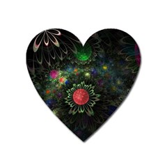 Shapes Circles Flowers  Heart Magnet by amphoto