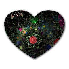 Shapes Circles Flowers  Heart Mousepads by amphoto
