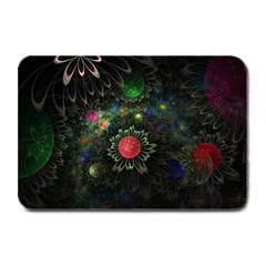 Shapes Circles Flowers  Plate Mats by amphoto