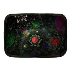 Shapes Circles Flowers  Netbook Case (medium)  by amphoto