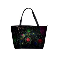 Shapes Circles Flowers  Shoulder Handbags by amphoto