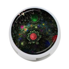 Shapes Circles Flowers  4 Port Usb Hub (one Side) by amphoto