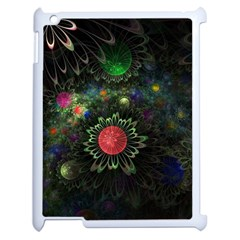 Shapes Circles Flowers  Apple Ipad 2 Case (white) by amphoto