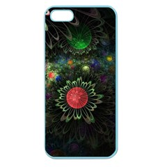 Shapes Circles Flowers  Apple Seamless Iphone 5 Case (color) by amphoto