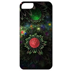 Shapes Circles Flowers  Apple Iphone 5 Classic Hardshell Case by amphoto