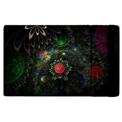 Shapes Circles Flowers  Apple Ipad 2 Flip Case by amphoto