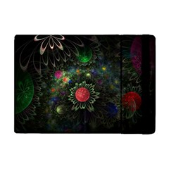 Shapes Circles Flowers  Apple Ipad Mini Flip Case by amphoto