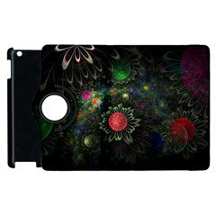 Shapes Circles Flowers  Apple Ipad 3/4 Flip 360 Case by amphoto