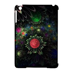 Shapes Circles Flowers  Apple Ipad Mini Hardshell Case (compatible With Smart Cover) by amphoto