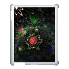 Shapes Circles Flowers  Apple Ipad 3/4 Case (white) by amphoto