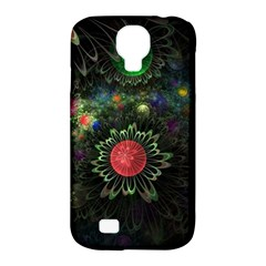 Shapes Circles Flowers  Samsung Galaxy S4 Classic Hardshell Case (pc+silicone) by amphoto