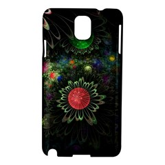Shapes Circles Flowers  Samsung Galaxy Note 3 N9005 Hardshell Case by amphoto
