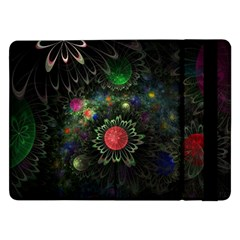 Shapes Circles Flowers  Samsung Galaxy Tab Pro 12 2  Flip Case by amphoto