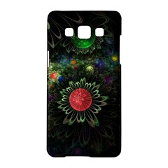Shapes Circles Flowers  Samsung Galaxy A5 Hardshell Case  by amphoto
