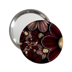 Flower Background Line 2 25  Handbag Mirrors by amphoto