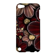 Flower Background Line Apple Ipod Touch 5 Hardshell Case by amphoto