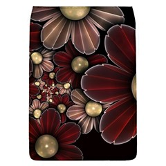 Flower Background Line Flap Covers (l)  by amphoto
