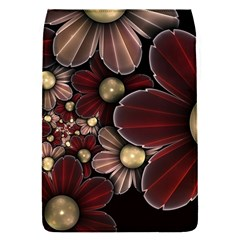 Flower Background Line Flap Covers (s)  by amphoto
